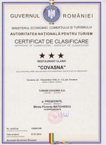 Restaurant Covasna***